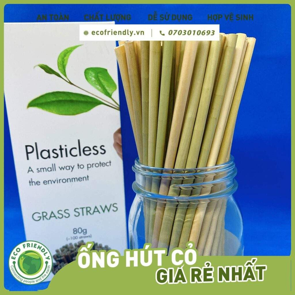 Xưởng sản xuất và gia công ống hút cỏ bàng EcoFriendly.vn +847030100693