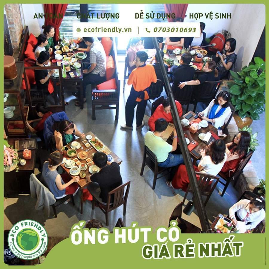 Thuyết trình về ống hút cỏ bang Ống hút cỏ bàng được sử dụng tại các nhà hàng cao cấp Ecofriendly.vn +84703010693